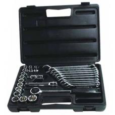 Набор головок торцевых 1/2 и ключей комбинированных STANLEY 1-89-105