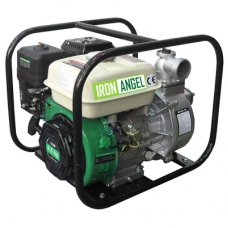 Бензиновая мотопомпа для чистой воды IRON ANGEL WPG 50