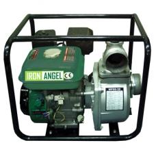Бензиновая мотопомпа для чистой воды IRON ANGEL WPG 80