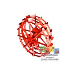 Металлические колеса с грунтозацепами (700х130 мм)